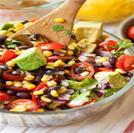 July 20 corn avocado and black bean salad