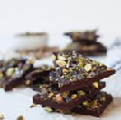 Salted Pistachio Chocolate Bark Dessert 1
