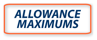 Allowance Maximums